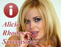 Alicia Rhodes Screensaver