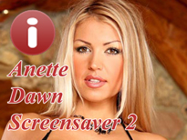 Anette Dawn Adult Screensaver for Free