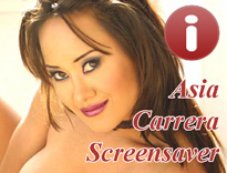 Asia Carrera Free Screensaver