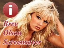 Bree Olson Sexy Screensaver