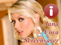 Jana Cova Pornstar Screensaver
