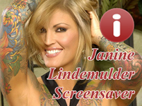 Free Janine Lindemulder Adult Screensaver