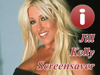 Free Jill Kelly Pornstar Screensaver