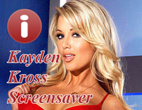 Kayden Kross Spicy Screensaver