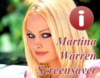 Martina Warren Spicy Screensaver