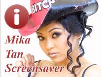 Free Mika Tan Screensaver
