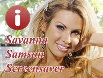 Savanna Samson Pornstar Screensaver