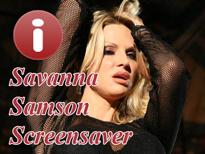 Savanna Samson Spicy Screensaver