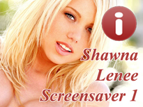 Free Shawna Lenee Adult Screensaver