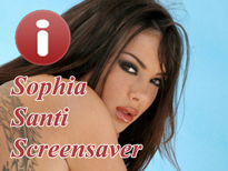 Free Sophia Santi Screensaver
