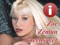 Zoe Zeman Pornstar Screensaver